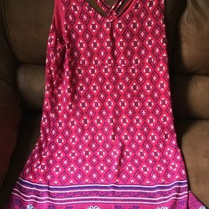 Skies Are Blue shift Dress size large